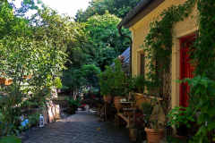 Giesing - Innenhof. Foto Gisela Glass