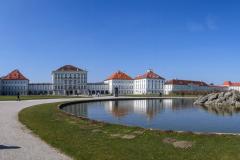 Nymphenburg - Panorama. Foto Heidi Hausmann