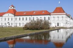 Nymphenburg - Spiegelung. Foto Brigitte Czerny