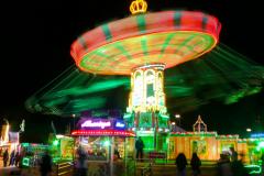 Oktoberfest - Kettenkarussell. Foto Hannelore Pierer