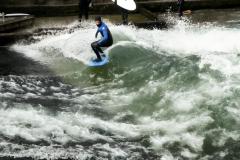 Surferwelle - Serienaufnahme. Foto Hannelore Pierer