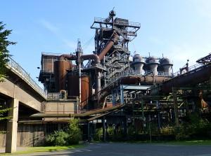 Hochofen als Industriekultur