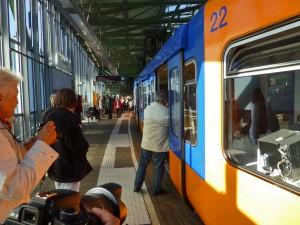 Fahrt mit der Wuppertaler Schwebebahn