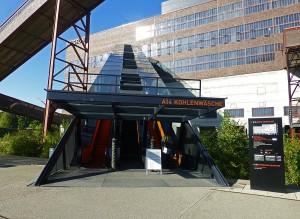 Zeche Zollverein - Auffahrt zum Ruhr-Museum