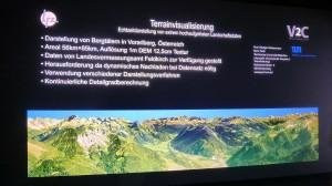 Terrainvisualisierung - extrem hochaufgelöste Landschaftsdaten