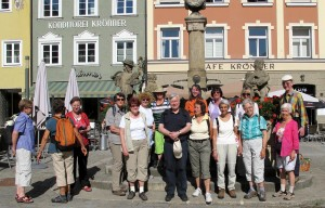 Die Wandergruppe in Weilheim