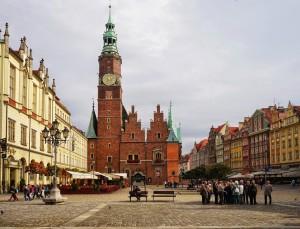 Breslau Das Alte Rathaus am Rynek