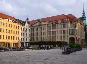 Der Görlitzer Marienplatz