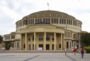 Breslau Die Jahrhunderthalle - eingeweiht 1913