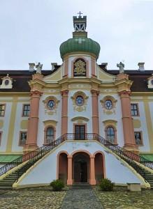 Das Kloster Marienthal bei Ostritz im Neißetal