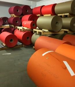 In der Büttenpapierfabrik Gmund