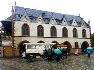 Das Rathaus in Goslar