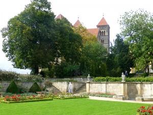 Quedlinburg Schlossberg mit Stiftskirche