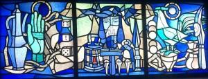 Campendonk-Glasfenster in der Christkönigskirche