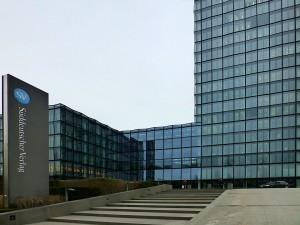 Verwaltungsgebäude Süddeutscher Verlag bei Steinhausen