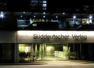 Druckzentrum des Süddeutschen Verlages