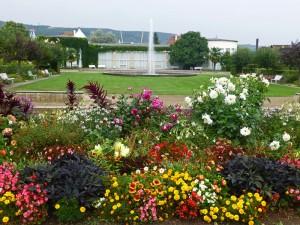 Blumenmeer im Kurpark von Bad Dürkheim