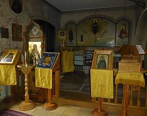 Im Innern des Klosters