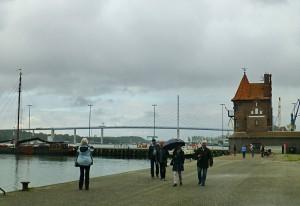 Die Rügenbrücke in Stralsund