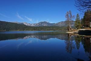 Der See gilt als einer der schönsten Seen der bayerischen Alpen