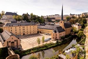 Luxemburg Abtei Neumünster