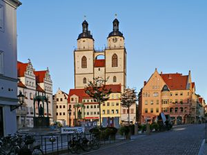 Die Stadtkirche St. Marien in Wittenberg
