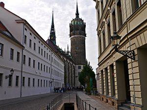 Die Schlosskirche der Lutherstadt Wittenberg