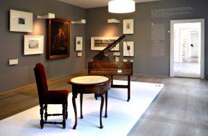 Im Händelmuseum in der Nikolaistraße 5–6 in Halle
